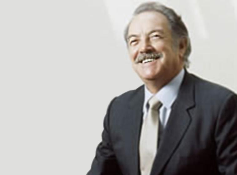 Ángel Borja Navarrete, fundador de la Beca Nuestro ITAM