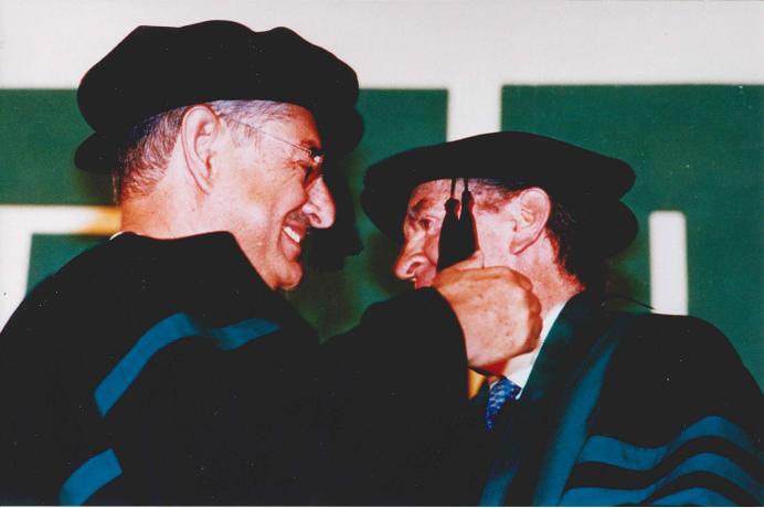 Don Javier Beristain y Don Aberto Bailléres